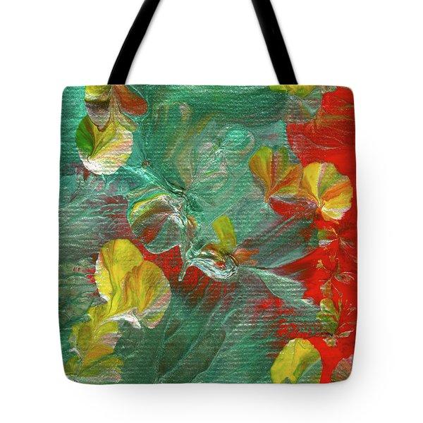 Emerald Island Tote Bag