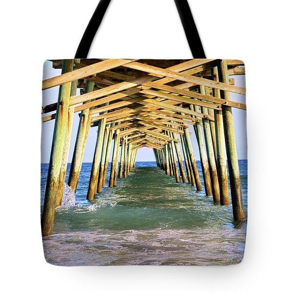 Emerald Isles Pier Tote Bag