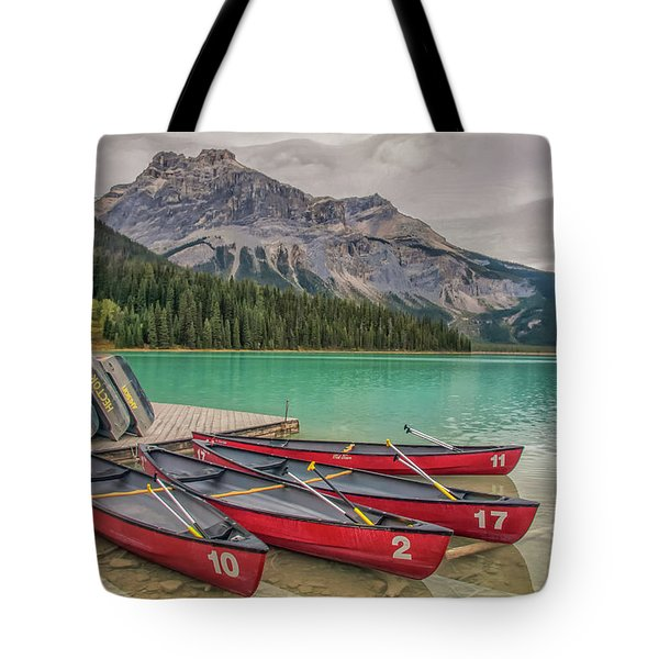 Tote Bag featuring the photograph Emerald Lake 2009 01 by Jim Dollar