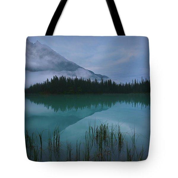 Emerald Lake Before Sunrise Tote Bag