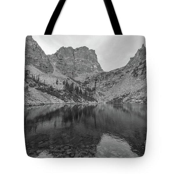 Emerald Lake Bw Tote Bag