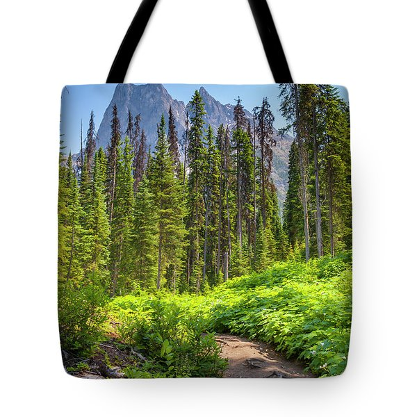 Tote Bag featuring the photograph Emerald Lake Circuit by Mark Mille