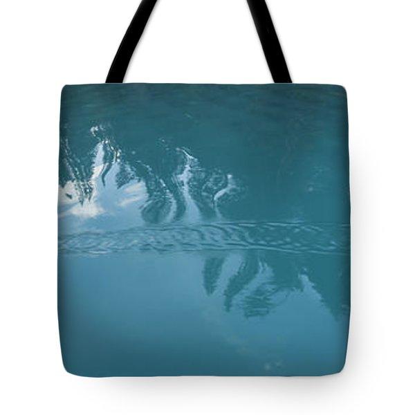 Emerald Lake Glacier Waters Tote Bag by Angela A Stanton