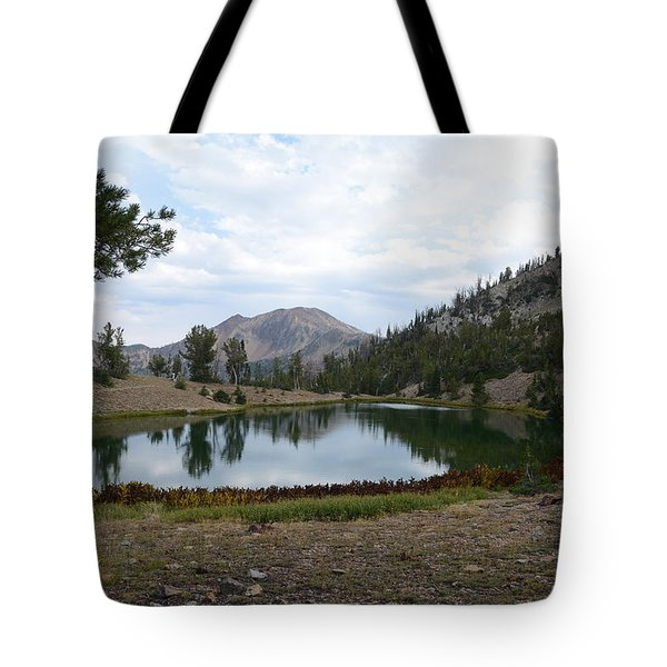 Jarbidge Wilderness Emerald Lake Tote Bag by Jenessa Rahn