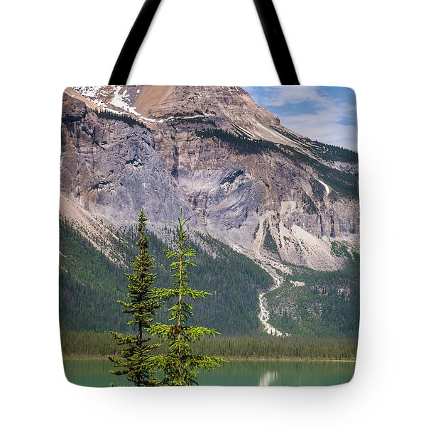 Tote Bag featuring the photograph Emerald Lake by Mark Mille