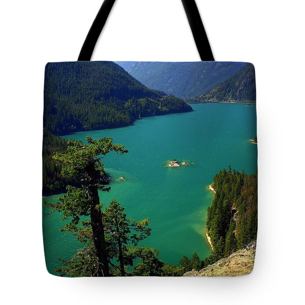 Emerald Lake Tote Bag by Marty Koch