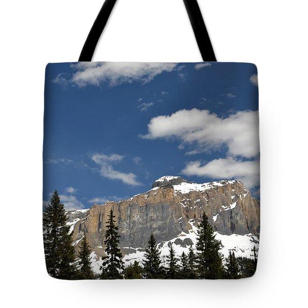 Emerald Lake Mountains Tote Bag