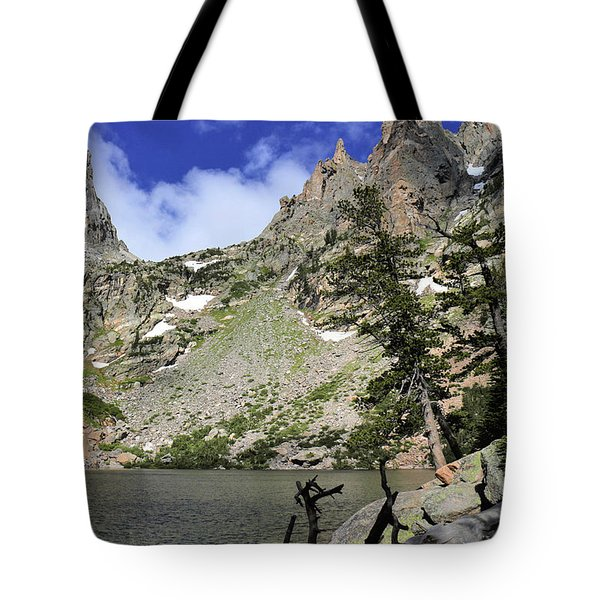 Emerald Lake Tote Bag by Scott Kingery
