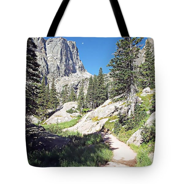 Emerald Lake Trail - Rocky Mountain National Park Tote Bag by Joseph Hendrix