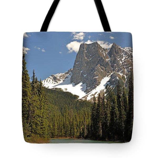 Emerald Lake Vista Tote Bag