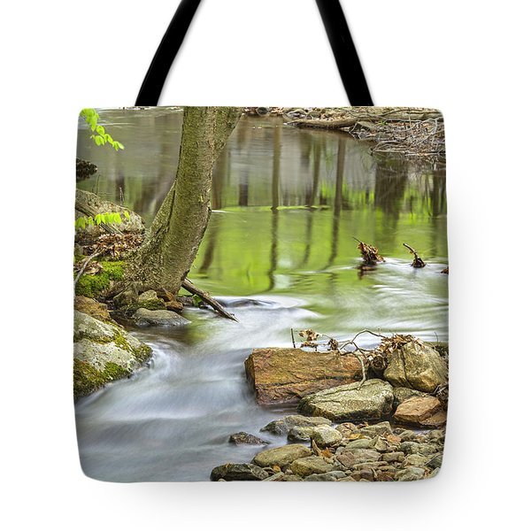 Emerald Liquid Glass Tote Bag by Angelo Marcialis