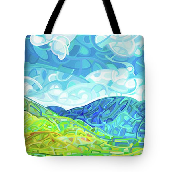 Emerald Moments Tote Bag by Mandy Budan