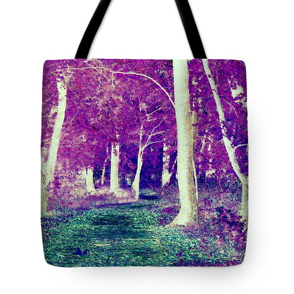 Emerald Path Tote Bag