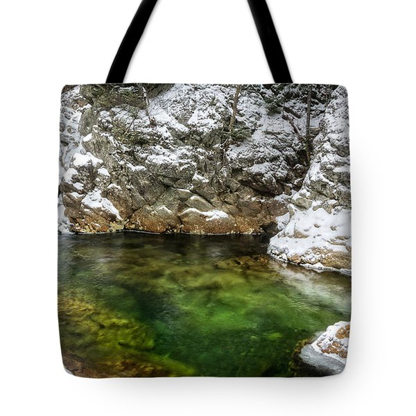Emerald Pool Ellis River Nh Tote Bag