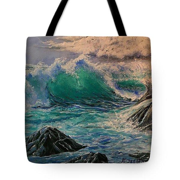 Emerald Sea Tote Bag