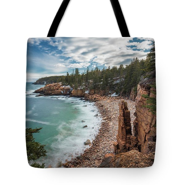 Emerald Shores At Monument Cove Tote Bag