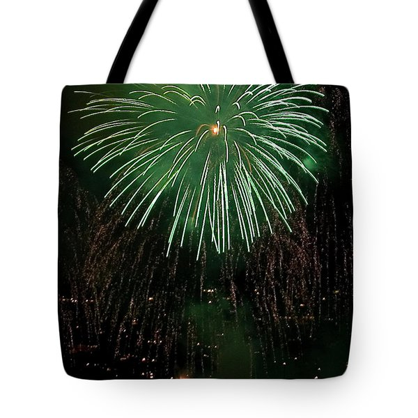 Emerald Sky Tote Bag by David Patterson