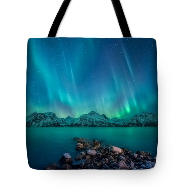 Emerald Sky Tote Bag