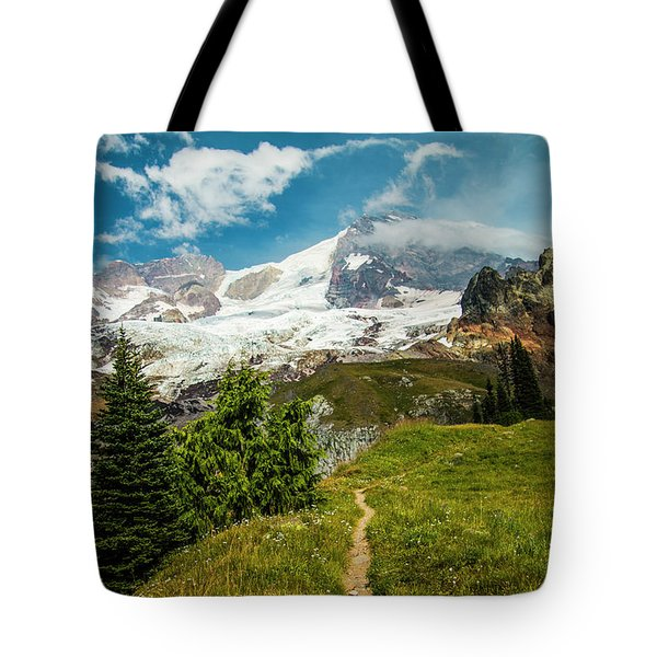 Emerald View Tote Bag