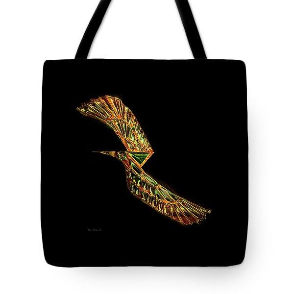 Emerald Wings Tote Bag