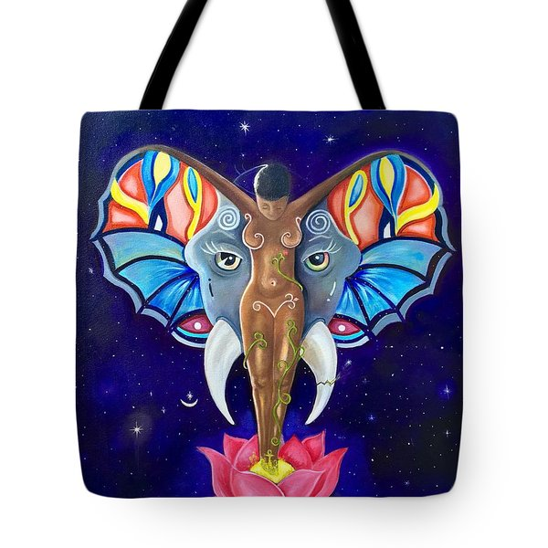 Emerge Tote Bag