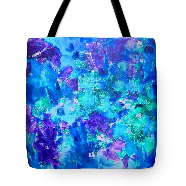 Emergence Tote Bag by Irene Hurdle