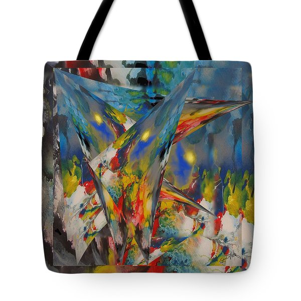 Emergence Of Colour Phase 3 Tote Bag