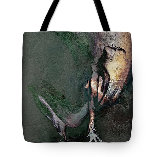 emergent II - textured Tote Bag