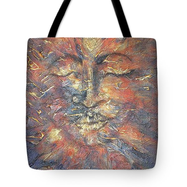 Emerging Buddha Tote Bag