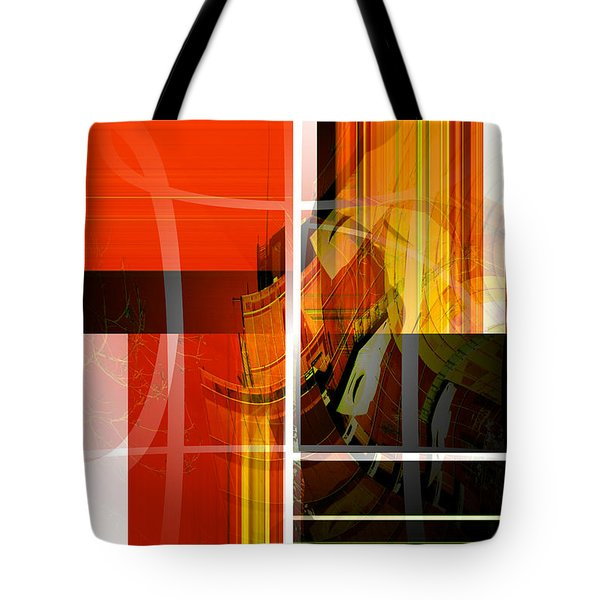 Emerging Concrete Life Tote Bag