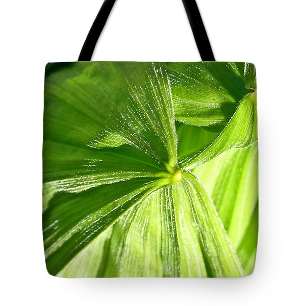Emerging Plants Tote Bag by Douglas Barnett