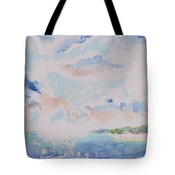 Emerging Sun 2 Tote Bag