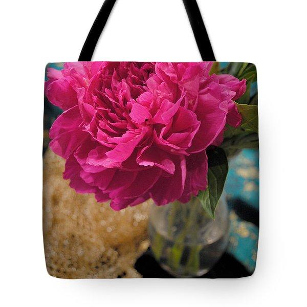 Emily's Peonies  Tote Bag