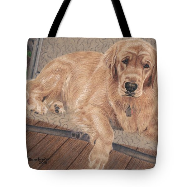 Emma On The Glider Tote Bag