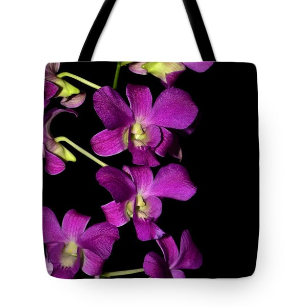 Tote Bag featuring the photograph Emma Queen Orchid 001 by George Bostian