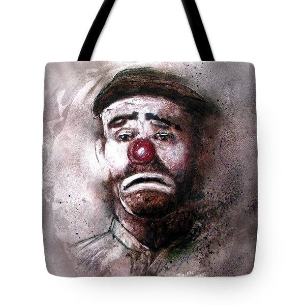Emmit Kelly Clown Tote Bag