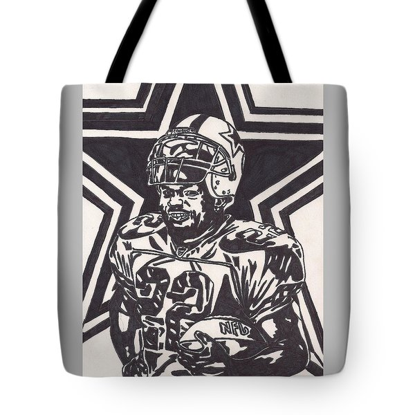 Emmitt Smith Tote Bag by Jeremiah Colley
