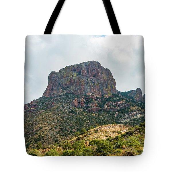 Emory Peak Chisos Mountains Tote Bag