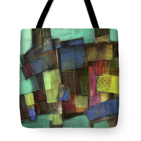 Colorful Tote Bag by Behzad Sohrabi