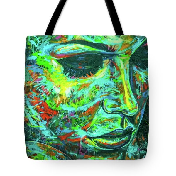Emotion Green Tote Bag
