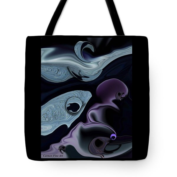 Emotion Of Dreams Tote Bag by Carmen Fine Art
