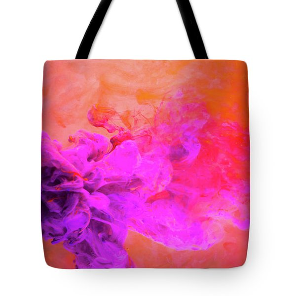 Emotional Fusion  - Abstract Art Photography Tote Bag