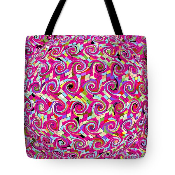 Emotions 318 Tote Bag