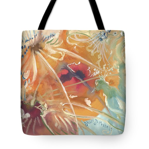 Emotions Of A Bird Tote Bag
