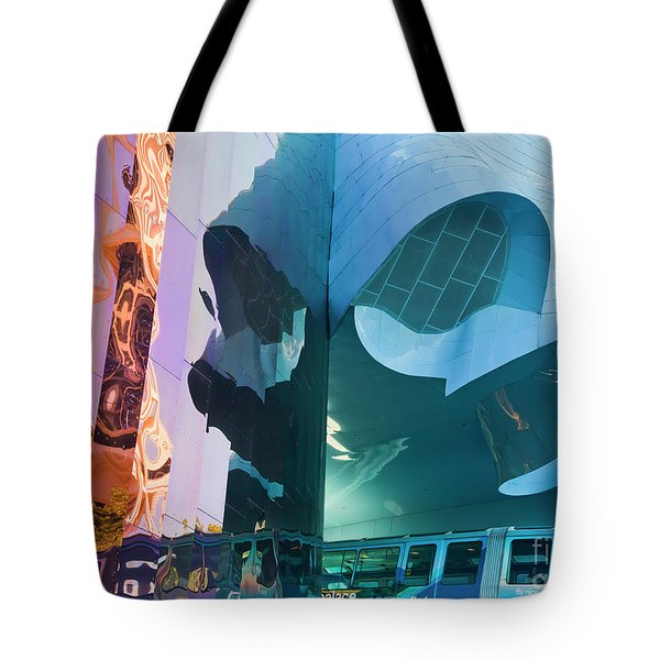 Tote Bag featuring the photograph Emp Psychadelic by Chris Dutton