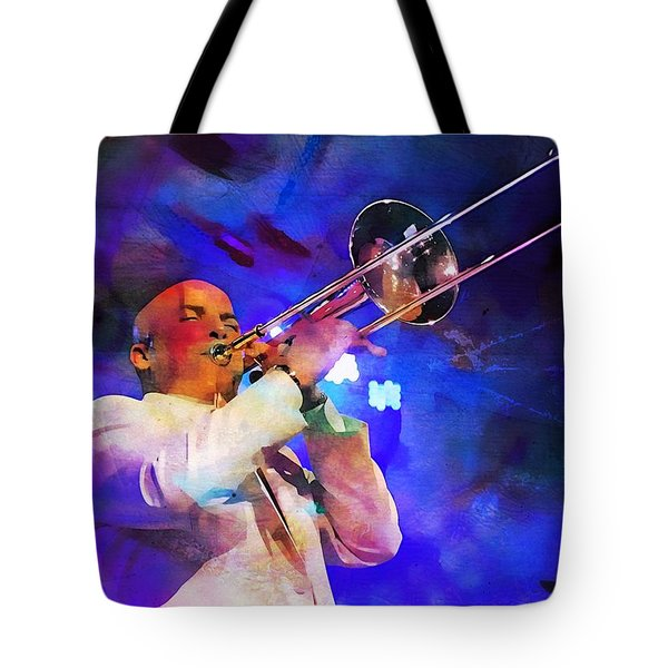 Emperor Of Salsa Dura, Jimmy Bosch  Tote Bag