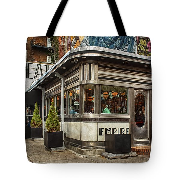 Empire Diner Tote Bag