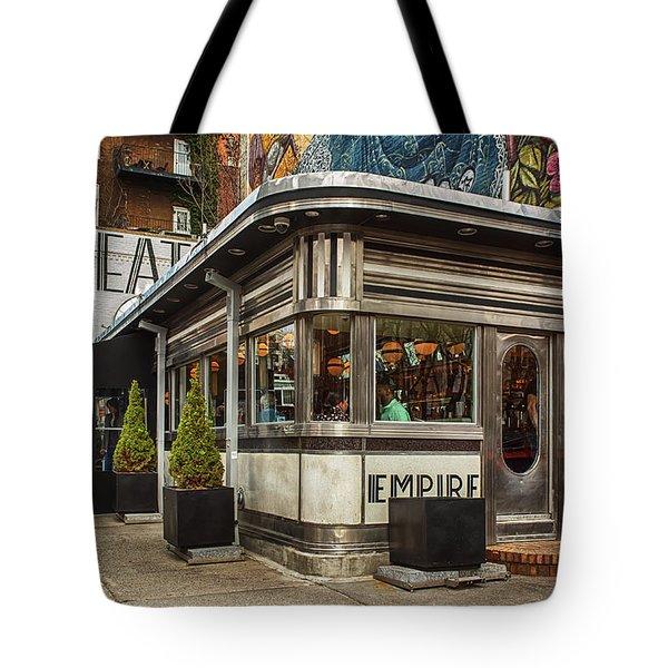 Empire Diner Tote Bag