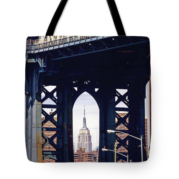 Empire Framed Tote Bag