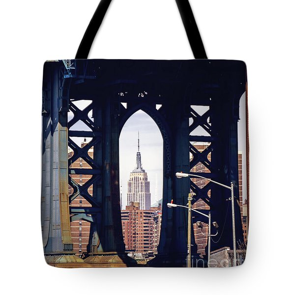 Empire Framed Tote Bag by Joan McCool